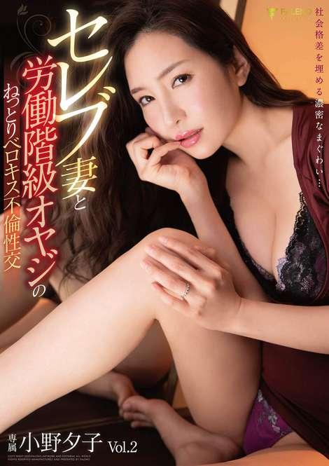 セレブ妻と労働階級オヤジのねっとりベロキス不倫性交 専属 小野夕子 Vol.2